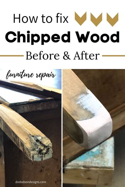 How To Fix Chipped Woodwork
