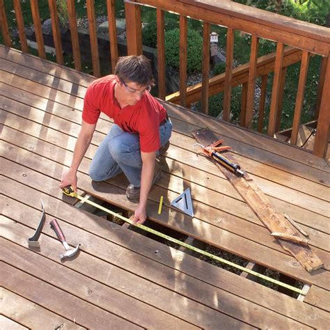 How To Fix Cracked Wood Deck
