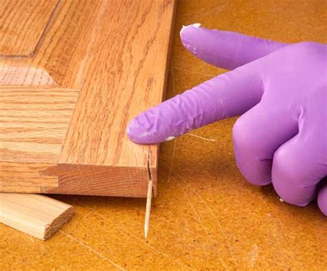 How To Fix Cracks In Wood Furniture