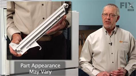 How To Fix Drawer Rail In Refrigerator