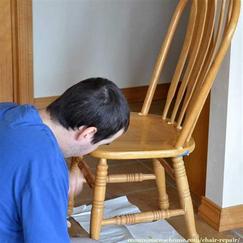 How To Fix Loose Wooden Chair Back