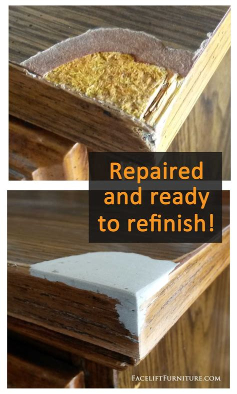 How To Fix Missing Veneer On Furniture