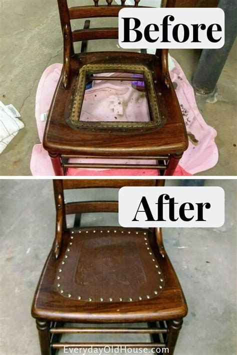 How To Fix Old Chair Seats