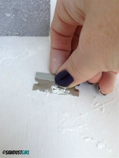 How To Fix Paint Drips On Furniture