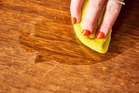 How To Fix Scratches And Stains On Wood Table