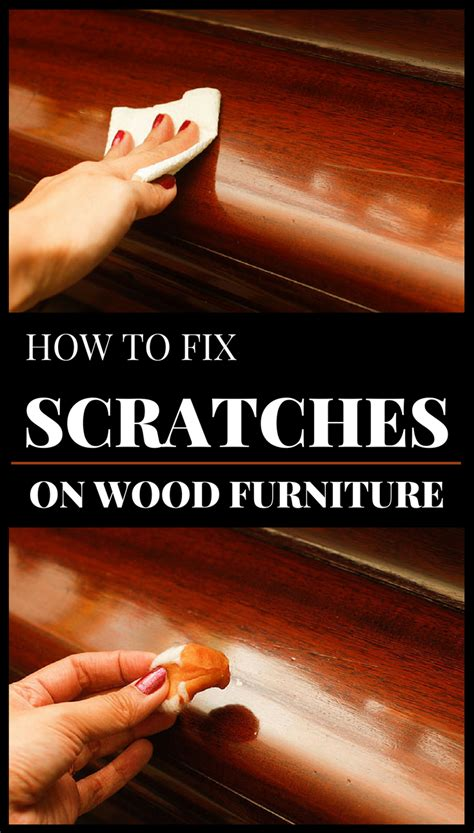 How To Fix Scratches In Wood Furniture