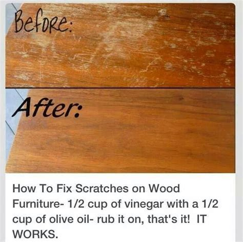 How To Fix Scratches On Fake Wood Furniture
