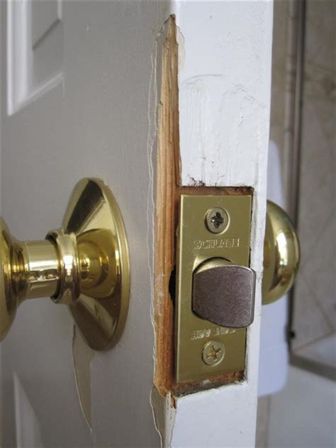 How To Fix Splintered Bedroom Wood Door