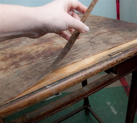 How To Fix Veneer On Antique Furniture
