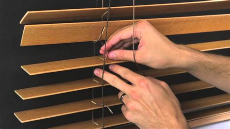 How To Fix Wooden Blinds