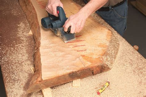 How To Flatten A Board With A Power Planer
