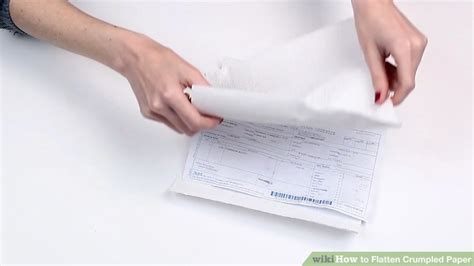 How To Flatten Paper Once Wet