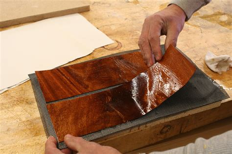 How To Flatten Warped Veneer On Furniture