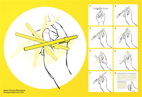 How To Flip A Pencil Around Your Thumb