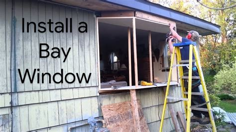 How To Frame A Box Bay Window Diy