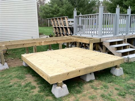 How To Frame A Deck For A Hot Tub
