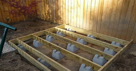 How To Frame A Deck Foundation