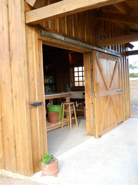 How To Frame A Doorway With Barn Beam