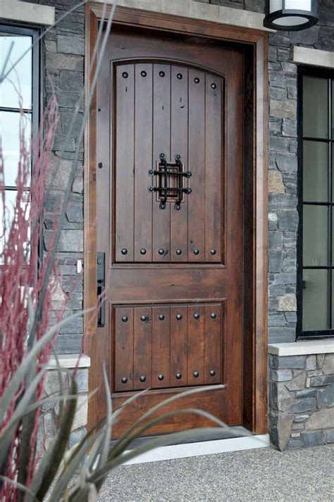 How To Frame A Doorway With Rustic Wood