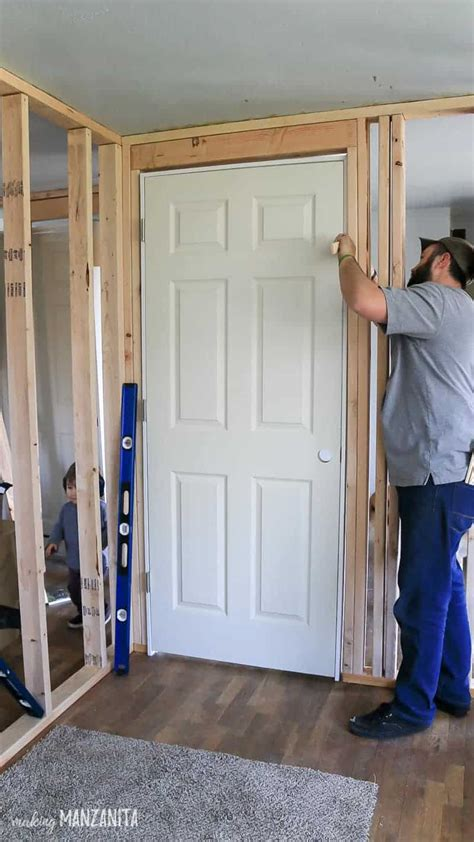 How To Frame An Interior Door Prehung