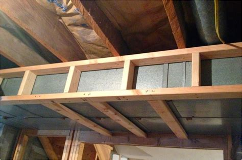 How To Frame Around Ductwork In Basement