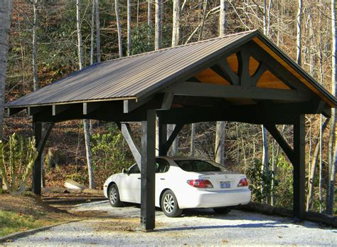 How To Frame Wood Carport