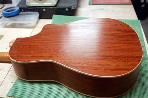How To French Polish Guitar