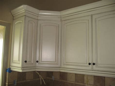 How To Gel Stain White Cabinets