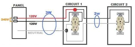 How To Get 120v From 240v Circuit Diagram