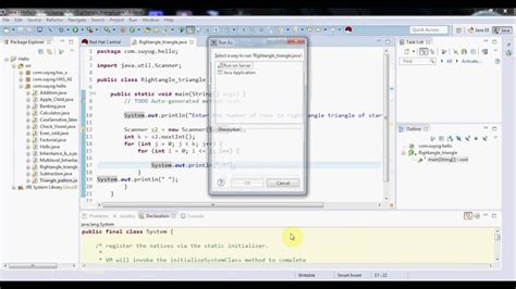 How To Get A Right Angle Triangle In Java