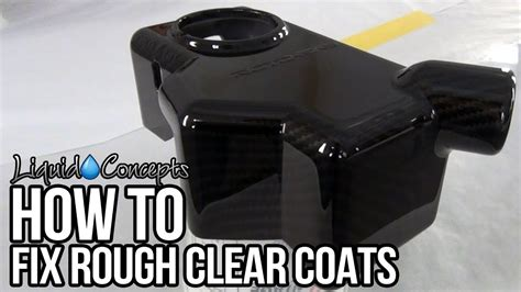 How To Get A Smooth Clear Coat