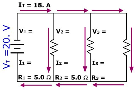 How To Get Amps Of Parallel Circuit