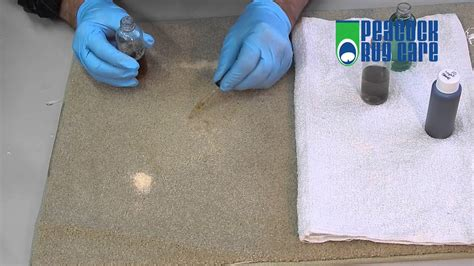 How To Get Bleach Stains Out Of Beige Carpet