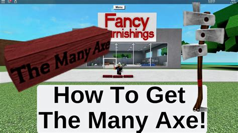 How To Get Lumber Tycoon Caution Axe