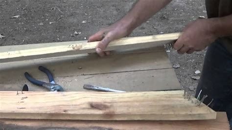 How To Get Nails Out Of Wood Pallets