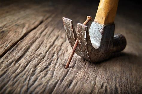 How To Get Nails Out Of Wood Without A Hammer