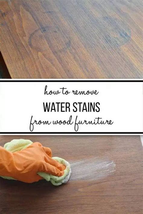 How To Get Stains Out Of Wood Table Tops