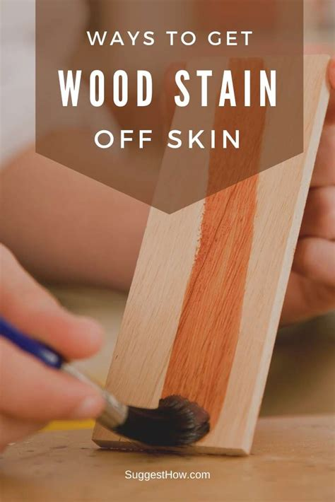 How To Get Wood Stain Off Wood
