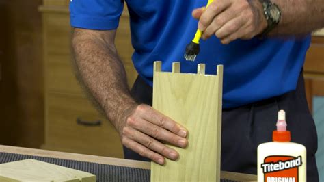 How To Glue Up Dovetail Joints