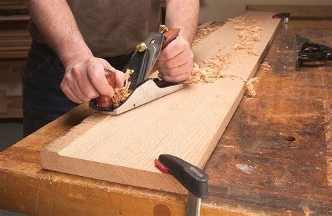 How To Hand Plane Rough Lumber