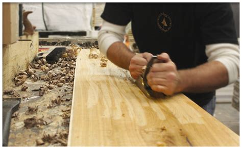 How To Hand Scrape Wood Table