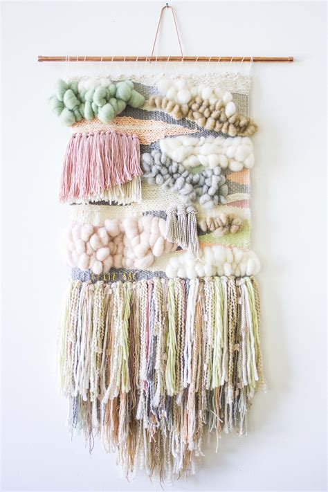How To Hand Weave Shells Into Wall Hanging