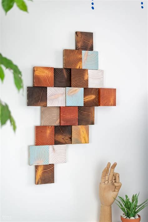 How To Hang Diy Wood Art Pinterest