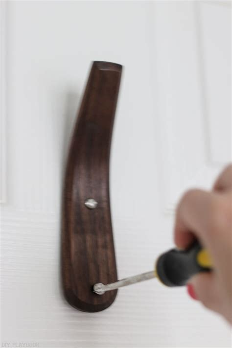 How To Hang Hooks On A Hollow Door Construction
