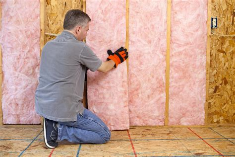 How To Hang Insulation In Garage Wall