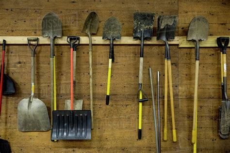 How To Hang Tools In A Shed
