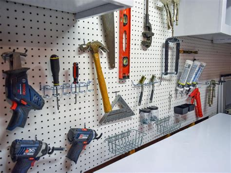 How To Hang Tools On Garage Wall