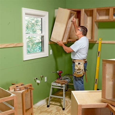 How To Hang Upper Cabinets