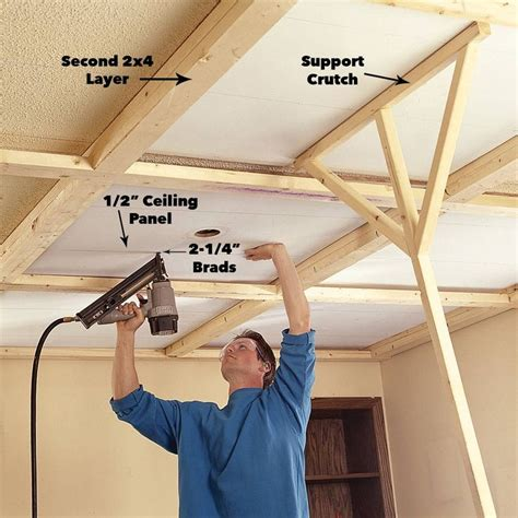 How To Hang Wood Paneling On Ceiling