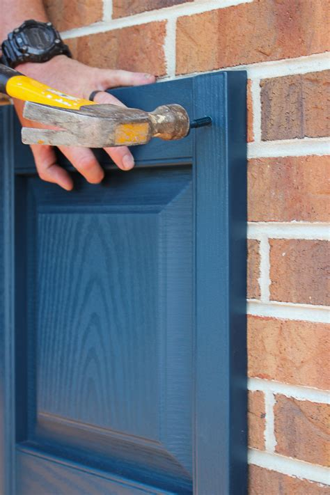 How To Hang Wooden Shutters On Mortar